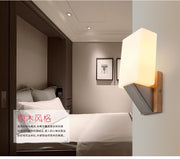 Wooden Wall Lamp (Various Options) Mounted