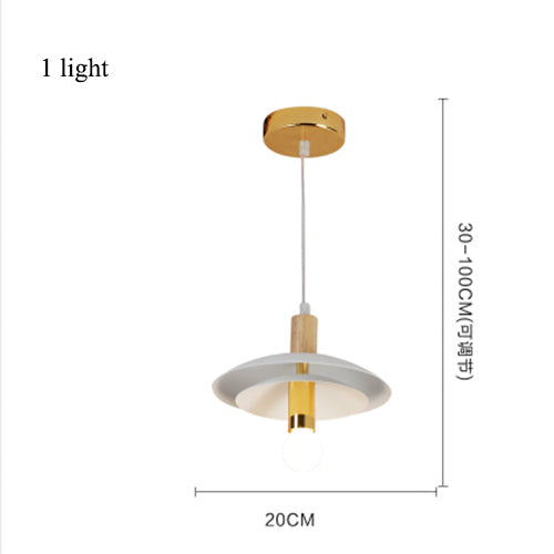 Modern Gold Rotatable Chandeliers (Various Options) 1 Light / Warm Bulbs Flush Mount