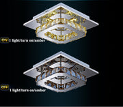 Crystal Square Chandeliers (Various Options) Flush Mount