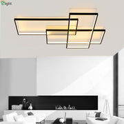 Modern Rectangular Ceiling Or Wall Lamps Mounted