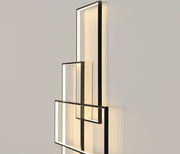 Modern Rectangular Wall Or Ceiling Lamps Mounted