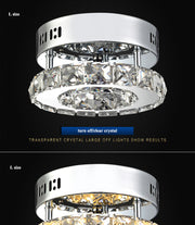 Modern Crystal Ceiling Lights (Various Options) Flush Mount