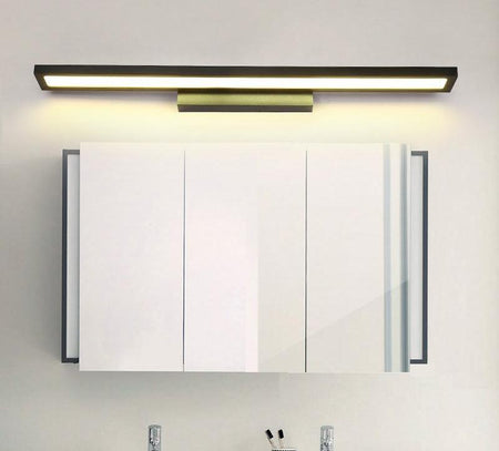 White/black Modern Bathroom Mirror Light Wall Mounted