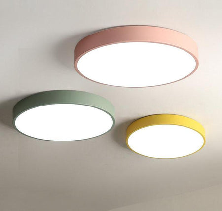 Fun Round Colorful Ceiling Lights -Modern lighting Lighting Salon