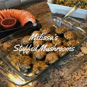 Melissa's Stuffed Mushrooms