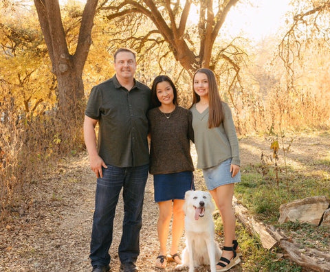 Meet the Team - Tricia family picture