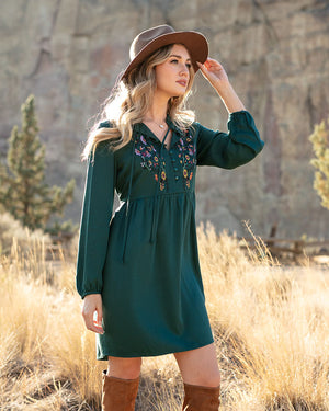 Autumn Romance Dress