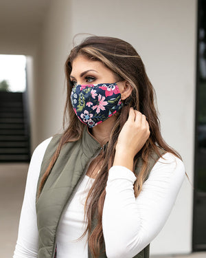 Double Layer Basic Mask - Adult and Child Size