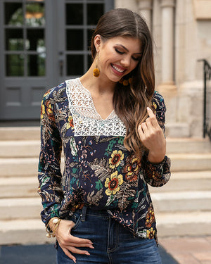 (**new item**) Autumn Marisol Blouse by Grace and Lace