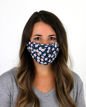 (**new color**) Double Layer Basic Mask - Adult and Child Size