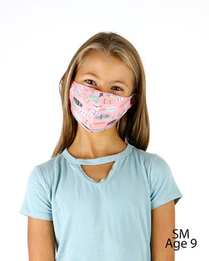 Double Layer 'Breathe Free' Mask with Nose Piece - 4 Sizes