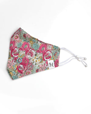 (**new item**) Double Layer 'Breathe Free' Mask with Nose Piece - 4 Sizes