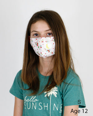 Double Layer 'Breathe Free' Mask with Respirator Valve and Nose Piece - 4 Sizes