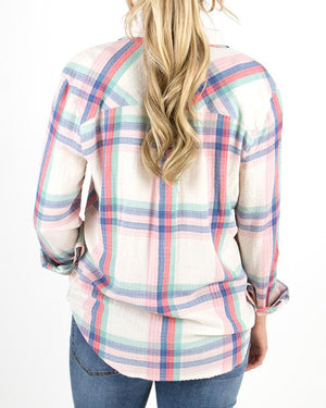 (**new color**) Favorite Button Up Plaid