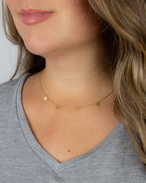(**new item**) H-O-P-E Necklace
