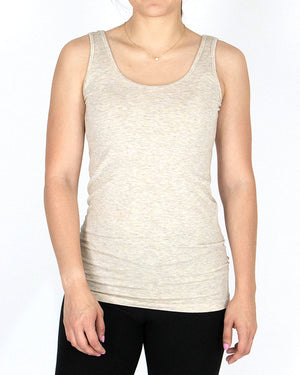 (**new item**) Perfect Easy Fit Tank in Oatmeal - Short