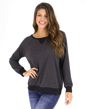 (**new color**) Slouch Pullover by Grace and Lace