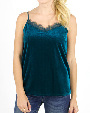 (**sale**) Velvet Cami by Grace and Lace
