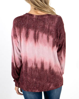 (**new item**) Tie-Dye Hacci Pullover