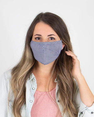 Double Layer Mask with Nose Piece -