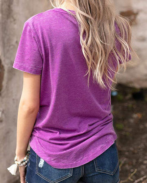 (**final sale**) Burnout Perfect Pocket Tee