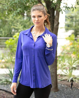 Favorite Button Up Top -