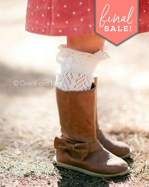 (**final sale**) Lil Dainty Boot Socks