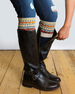 (**final sale**) Patterned Boot Cuffs