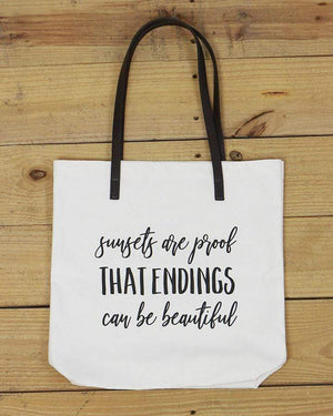 G&L Inspirational Quote Totes -