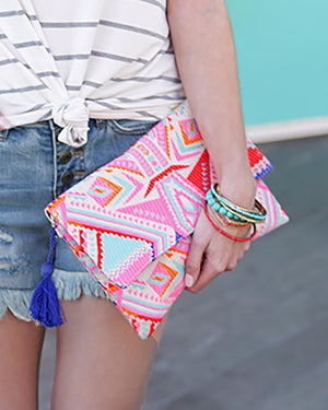 Indian Summer Clutches - Bohemian Vibes / One Size