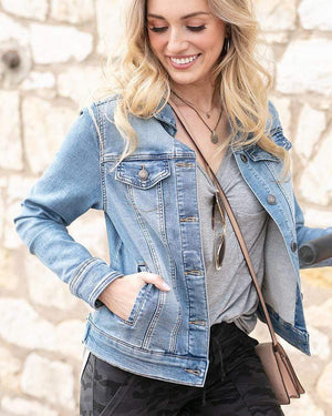 Ultimate Denim Jacket - Light Mid-Wash / XS