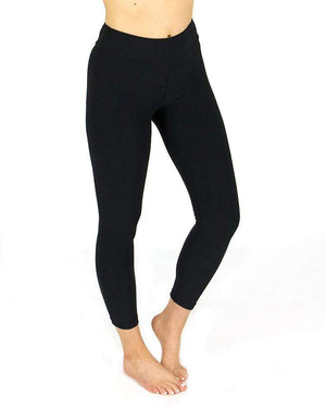 (**new item**) Cropped Live-In Leggings Black / Size 2/8