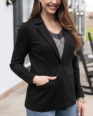 Fab-Fit Blazer - Black / XS