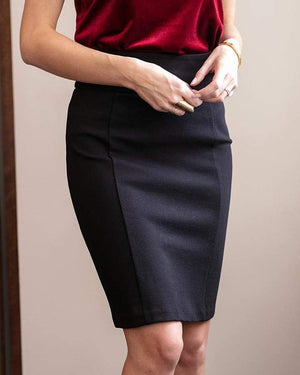 Fab-Fit Skirt - Black / Size 0