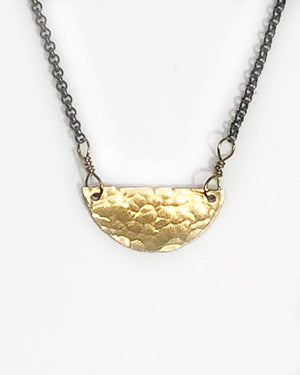 Half-Moon Necklace - Gold / One Size (Will Ship Early May)