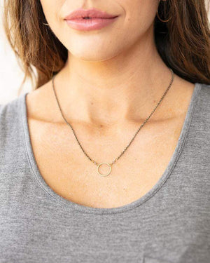 Orbit Necklace - Gold / One Size (Will Ship Early May)