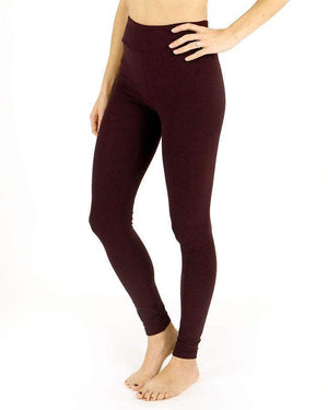 Live-in Leggings - Wine / Size 2-8