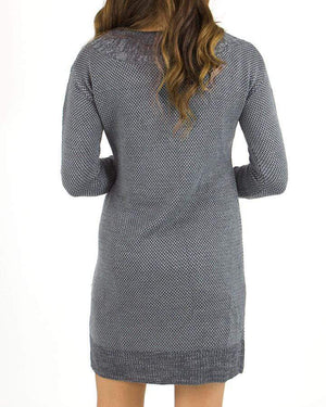 Pointelle Sweater Dress -