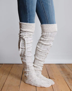 (**sale**) Alpine Thigh High Boot Socks