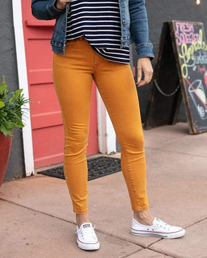 (**sale**) Colored Jeggings in Mustard Mustard / Size 0