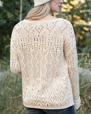 Frost Creek Pointelle Sweater -