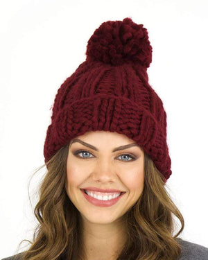 (**sale**) Knit Pom Hat