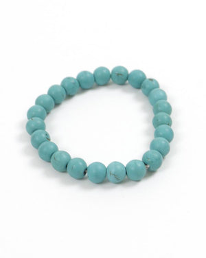 (**sale**) Natural Stone Bracelet Mineral Blue