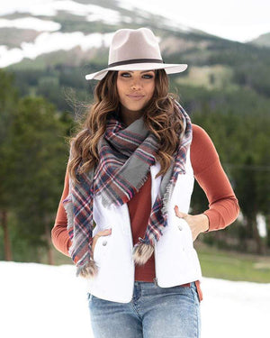 Triangle Scarf -