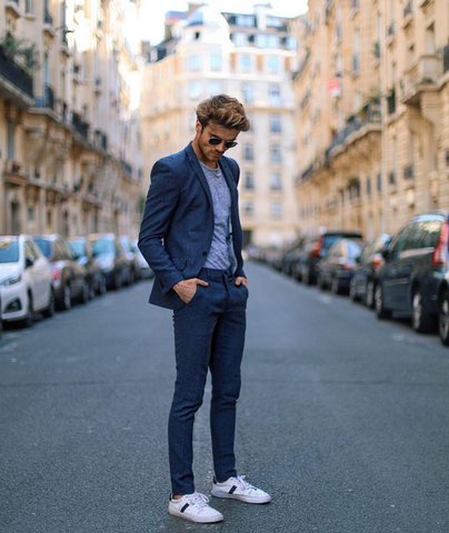 Suits With Sneakers: How Are Men