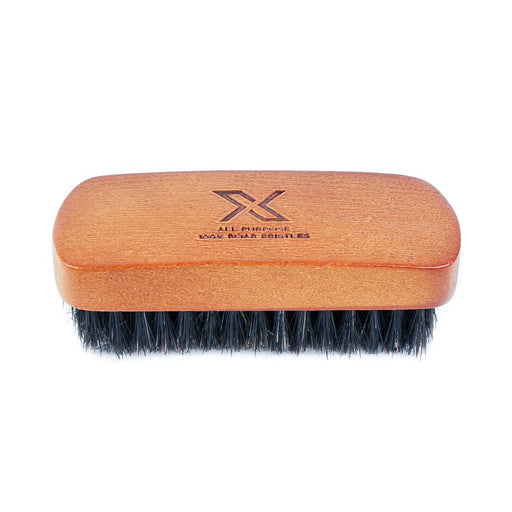 X All-Purpose Sneaker Brush, 100% Boar Bristles