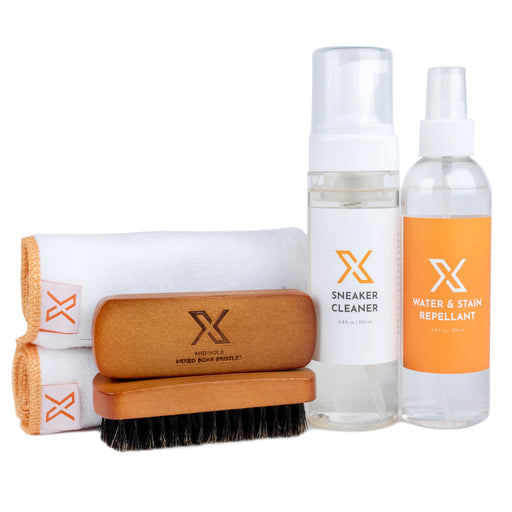 X Canvas, Nylon, Knit, & Mesh Sneaker Cleaning Kit