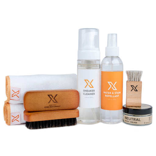X Smooth Leather & High Shine Sneaker Cleaner Kit