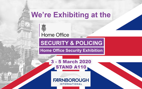 Santor at Security Policing, Home office Security exhibition, UK