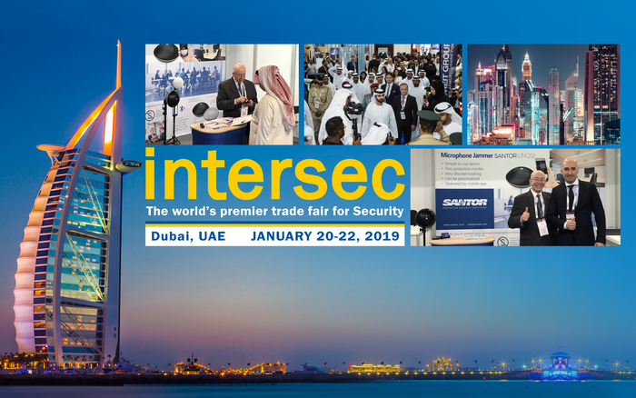 Santor at INTERSEC Dubai 2019